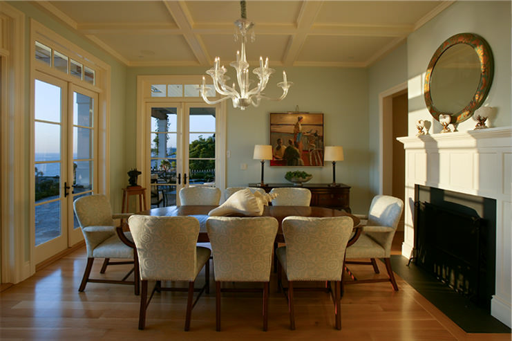 Laguna Beach, Dining room, traditional design